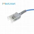 14pin>DB9 SpO2傳感器延長電纜兼容Masimo 3