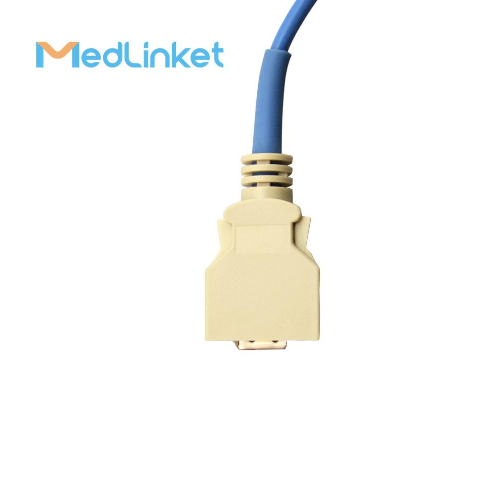 14pin>DB9 SpO2傳感器延長電纜兼容Masimo 6