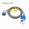 日本光电JL-900P血氧延长线