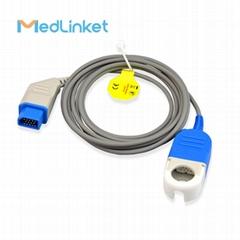 日本光電JL-900P血氧延長線