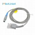 EDAN M8 M9 M3 spo2 extension cable