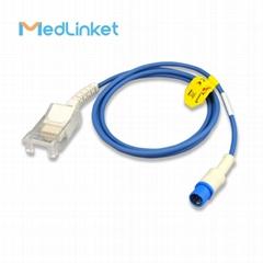 西門子 SC7000 SC8000 血氧延長線,圓頭7針轉D