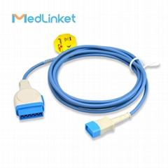 GE S/5 AS/3 血氧延長線