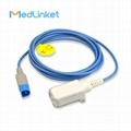 Philips MP20 MP30 spo2 extension cable,8p>DB9F