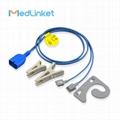 Nihon Kohden TL-201T adult ear clip SpO2 Sensor