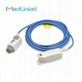 GE Datex-Ohmeda OXY-F4-N Adult finger clip spo2 sensor, 3M