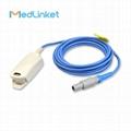 Mindray MEC-1200 Adult finger clip spo2 sensor, 3M