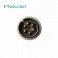 偉倫Propaq100 一體五導心電導聯線,扣式,歐標 5
