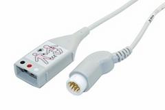 飛利浦M1500A 3導心電電纜,9英呎,美標/歐標