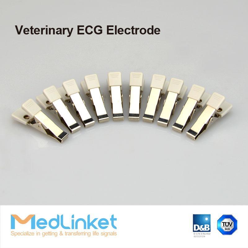 動物心電電極,夾子 2