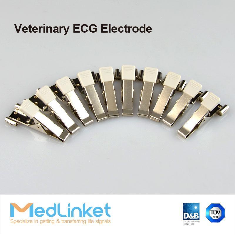 動物心電電極,夾子 4