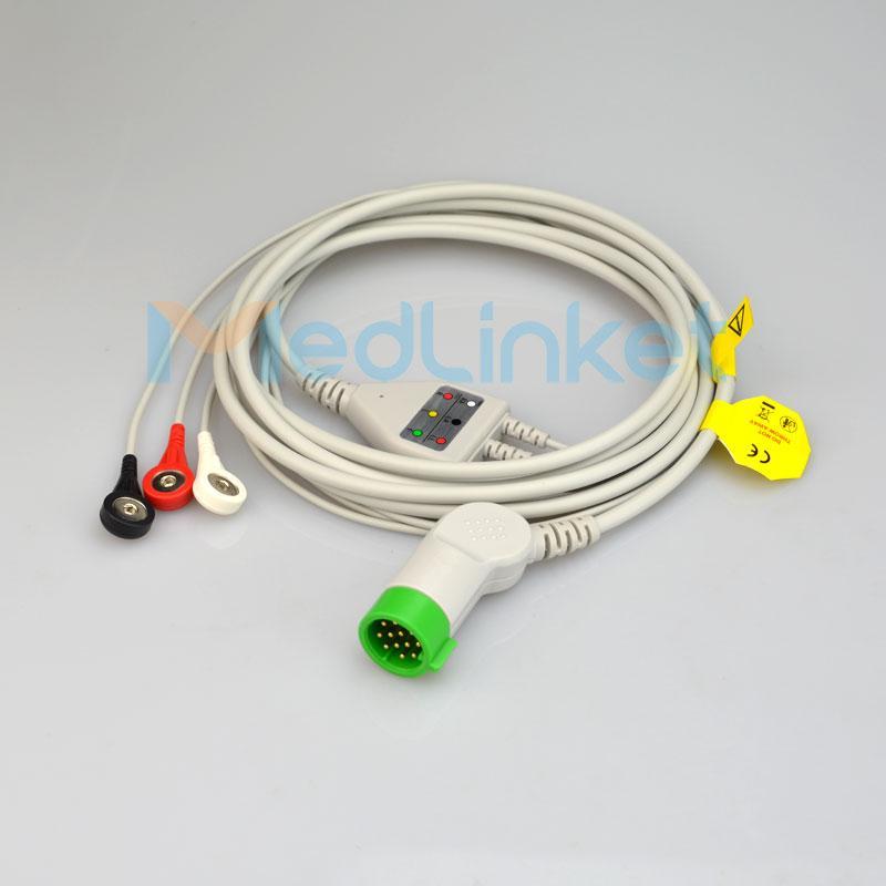 美敦力 Lifepak 12 三導心電導聯線 1