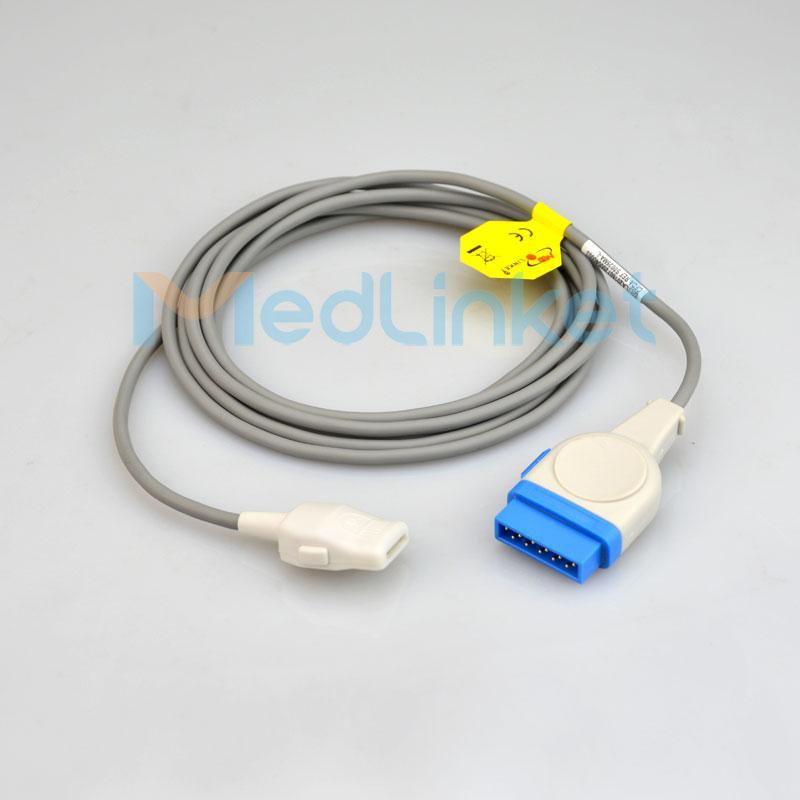 GE醫療Dash3000血氧延長線,11針轉插片6針 1
