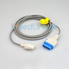 GE医疗Dash3000血氧延长线,11针转插片6针