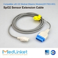 GE Medical Dash3000 adapter cable,Rectangle  11P>Masimo 6J