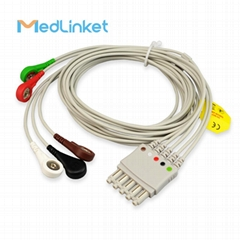M1644A 5lead with leadwires,102cm
