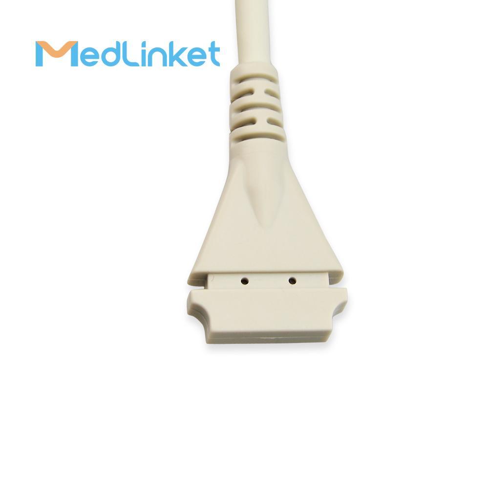 博迪克din 5導心電電纜 3CH, 45 cm,PCB 7pin>Din 5J 3