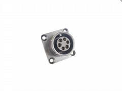 E0001  Intrument connector 6pin for ecg