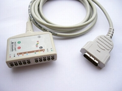 MAC1200 10LD ECG trunk cable