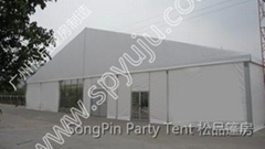 warehouse tent 30x30m