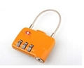 TSA 3-digit cable luggage lock 5