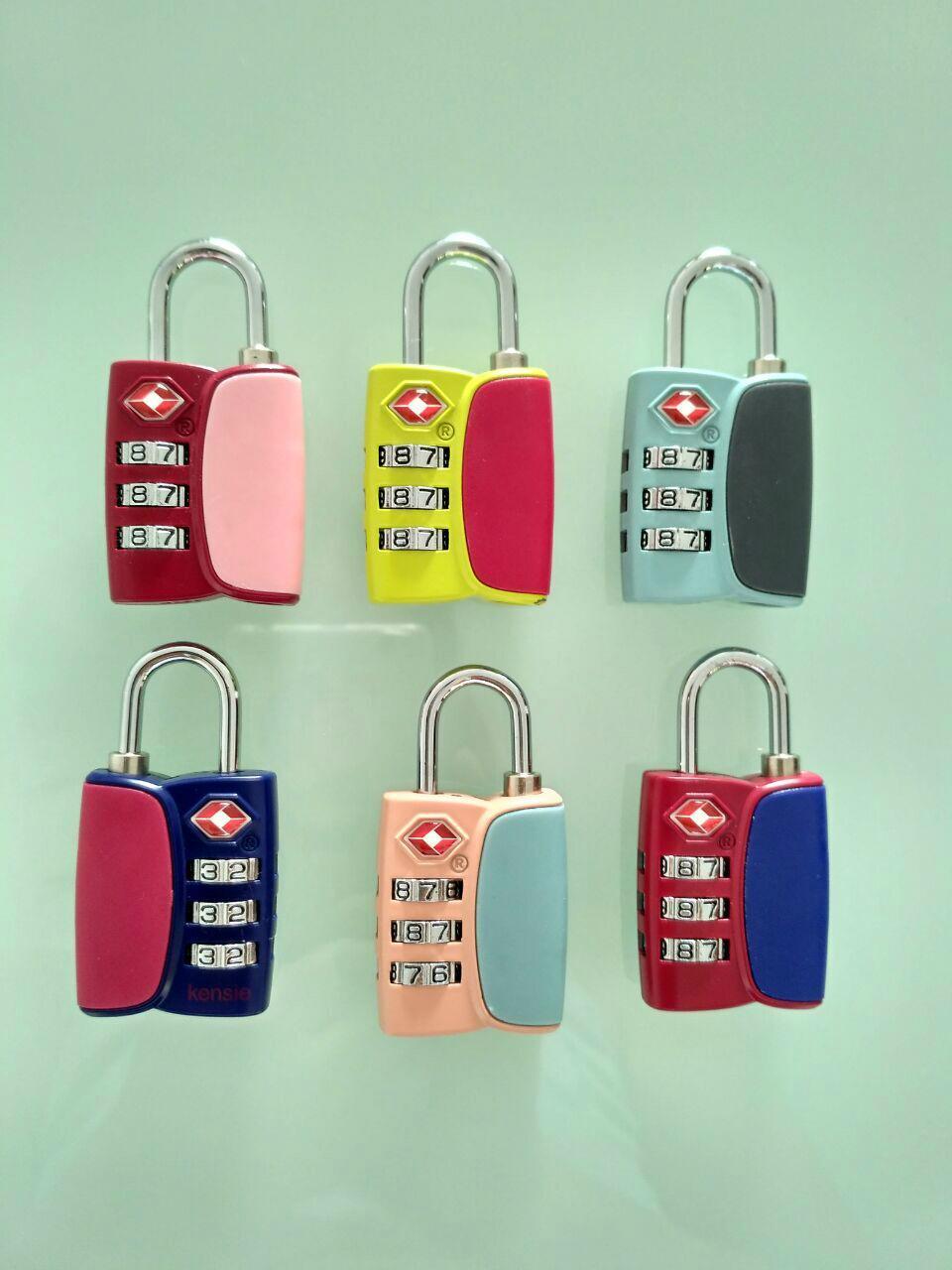 TSA combination padlock 3