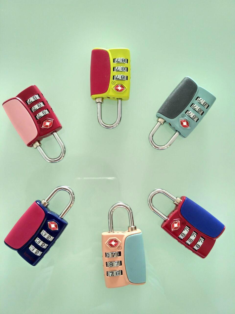 TSA combination padlock 5