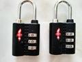 TSA 3-digit travel bag   lock