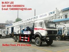 300-400米全驱 车载式水井钻机