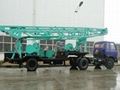 400m trailer mounted water well drill
