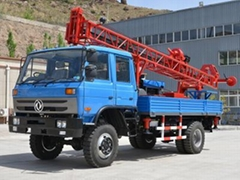truck mounted drill rig for 300m