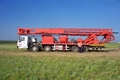 1000m mobile water well drilling rig for