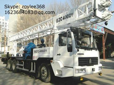water drilling rig, borehole drilling machine 1