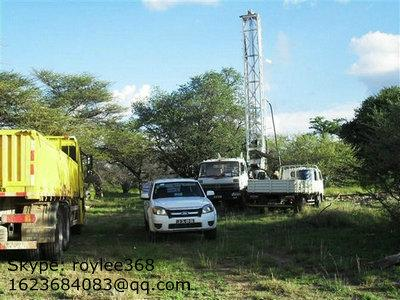 water drilling rig, borehole drilling machine 3