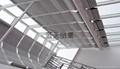 阳光房玻璃顶PTS折叠式遮阳帘