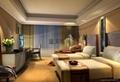 酒店宾馆电动布艺窗帘