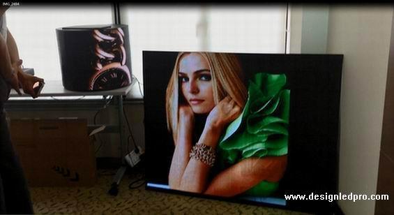 P4mm flexible led screen direct supplier 1