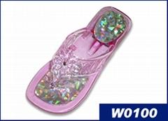 �r尚水晶拖鞋