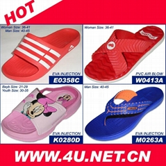 After Sport Slipper--Light & Comfortable