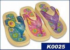 可爱的儿童拖鞋