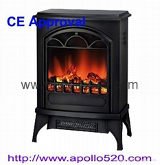"16.5"" Cube Mini Electric Stove Heater Portable"