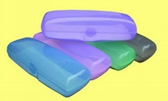 plastic  sunglasses case