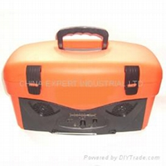 14-Liter Cooler Box with AM.FM Radio