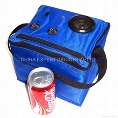 6-Can Cooler Bag Radio