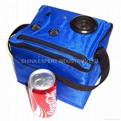 6-Can Cooler Bag Radio