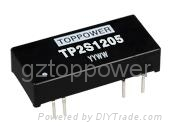 3W Isolated DC/DC Converters  Single Output  TP2S