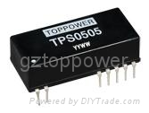 TPS 2W 6kVDC Isolated Dual Output DC/DC Converters
