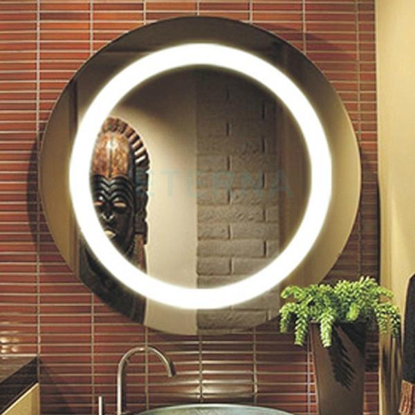 Illuminated Bathroom Mirror With Led Light L Led01 Ljm