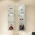 创意时尚水晶玻璃收纳柜 2