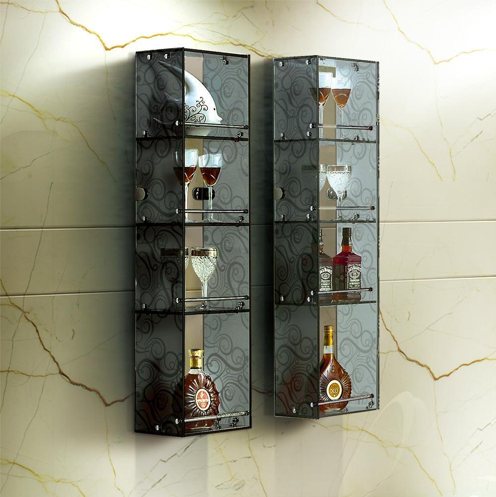 创意时尚水晶玻璃收纳柜 3